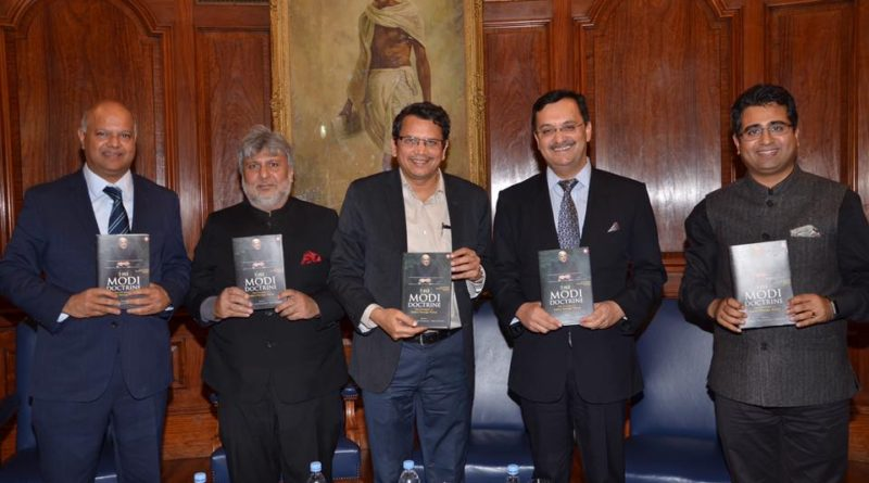 "The High Commission of India Organised Panel Discussion & Interactive Session with the Editors on ""The Modi Doctrine"" at India House, London"