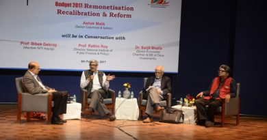 SPMRF & NMML Organised a Discussion on Remonetisation, Recalibration & Reform on 8th February, 2016