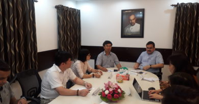 Interaction with A Visiting Team Led by Prof. Le Van TOAN (Director, Centre for Indian Studies, Ho Chi Minh National Acedemy of Politics, Hanoi, Vietnam)